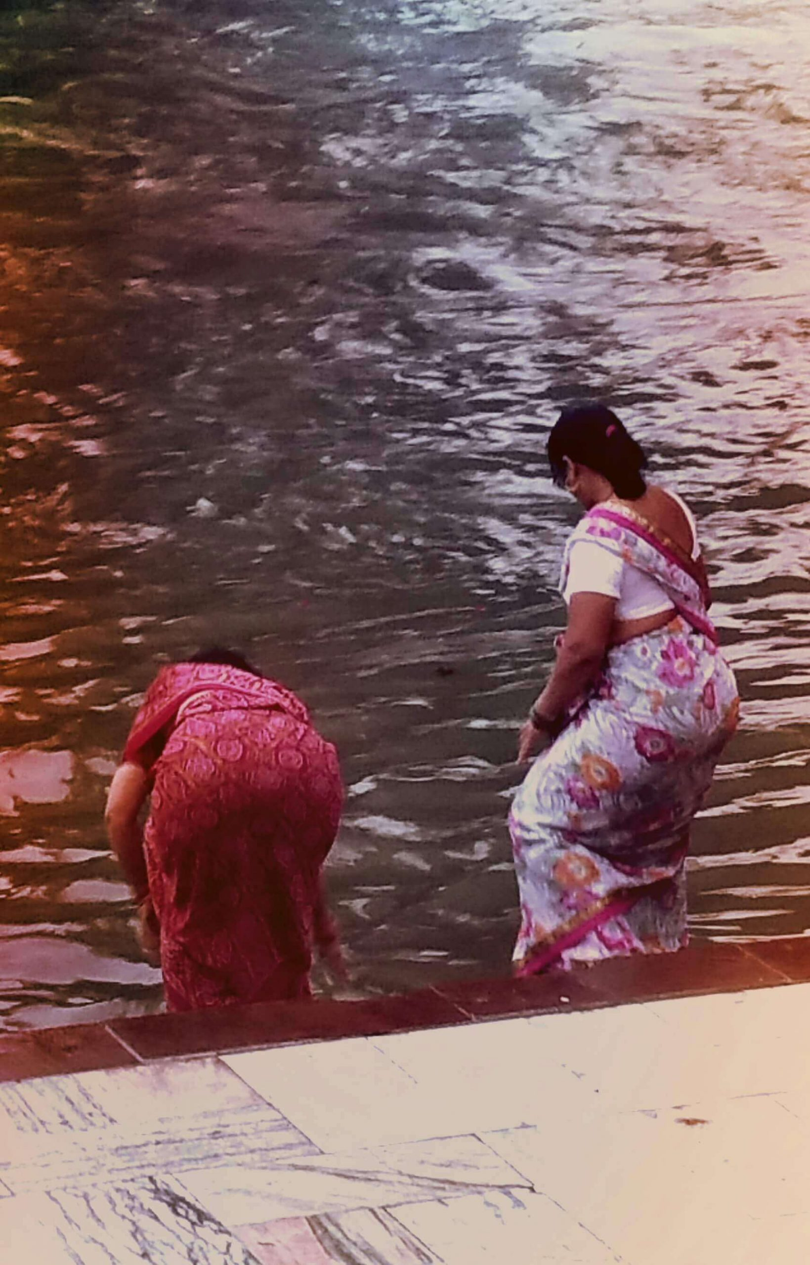 Indien Frauen Ganges