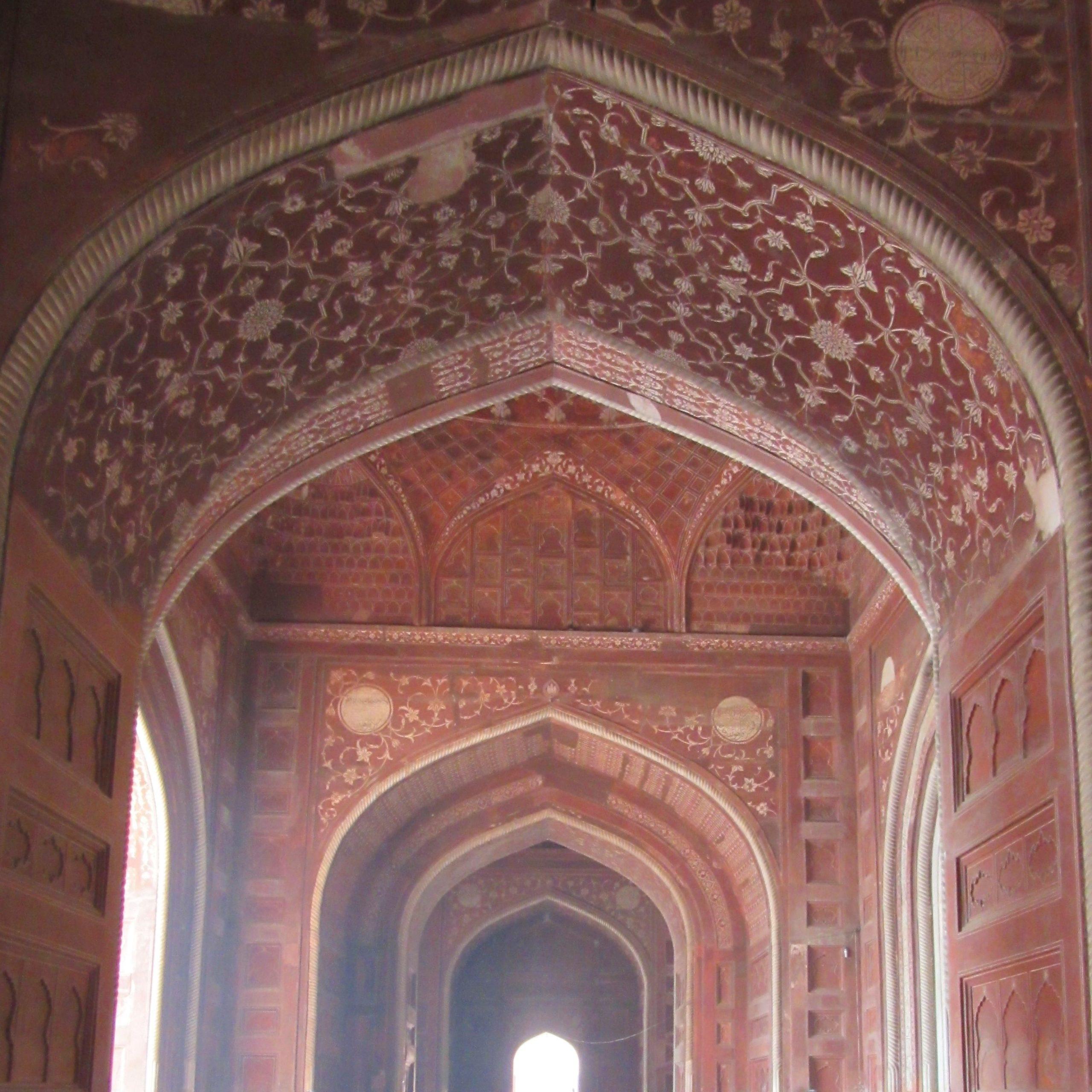 Taj Mahal Seitengang